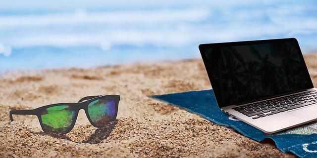summer, beach, home